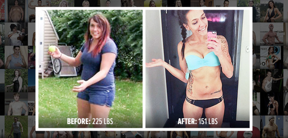 Allie Dropped 75 Lbs And Found Happiness With Fitness!