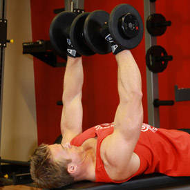 Dumbbell Bench Press image