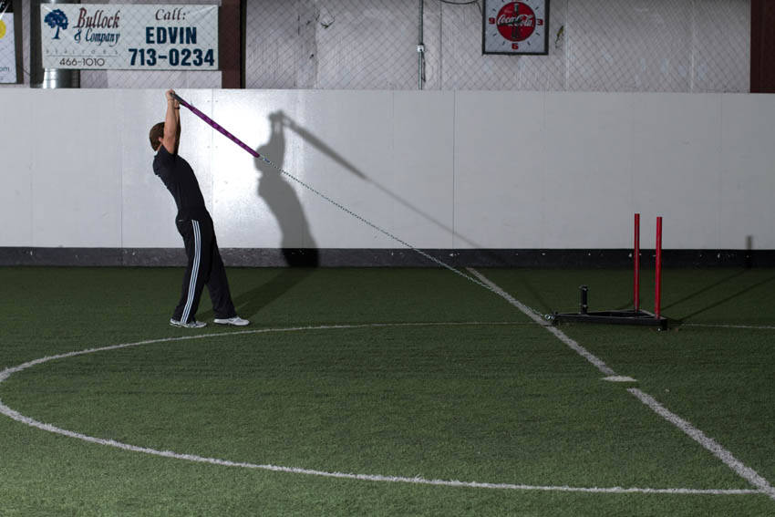 Sled Overhead Backward Walk image