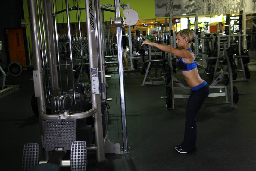 Straight Arm Pulldown Exercise Guide And Video