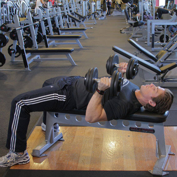 Dumbbell Bench Press with Neutral Grip image