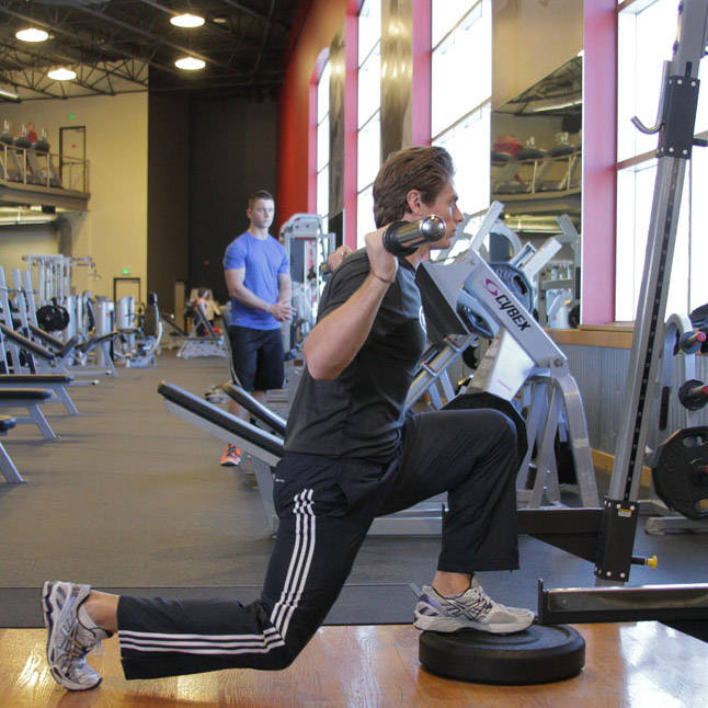 Elevated Back Lunge