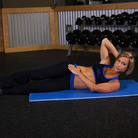 Side leg raise (on flat bench)