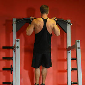 Weighted chin-up