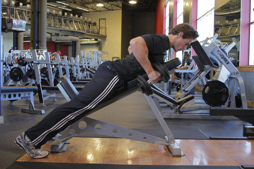 Incline Dumbbell Row Dumbbell Incline Row E...