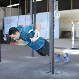 Suspended Push-Up image