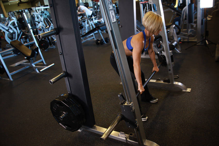 bent over row video guide