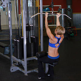 Underhand Cable Pulldowns
