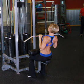Close-Grip Front Lat Pulldown