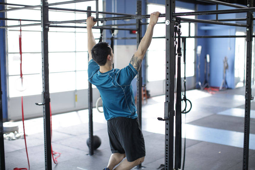 Scapular Pull-Up image
