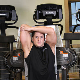 Standing Low-Pulley One-Arm Triceps Extension