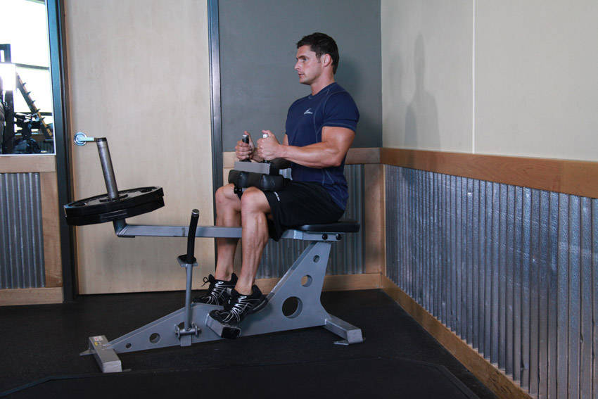 Seated Calf Raise Without Machine Seated Calf Raise  Click to