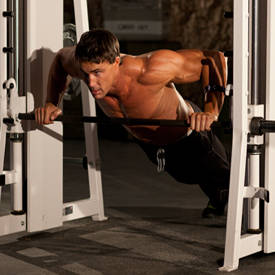 Incline Push-Up Wide