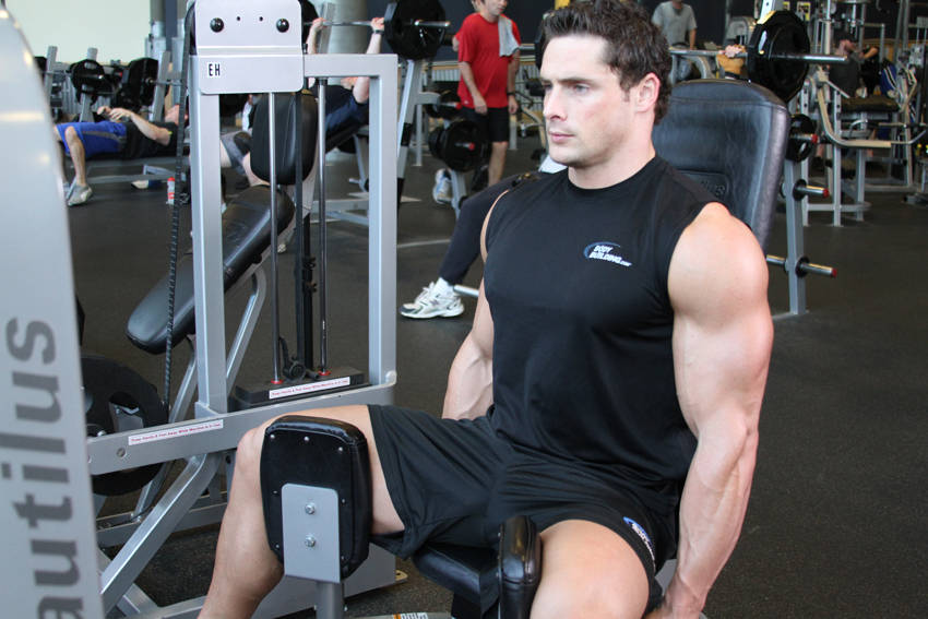 adductor exercise machine
