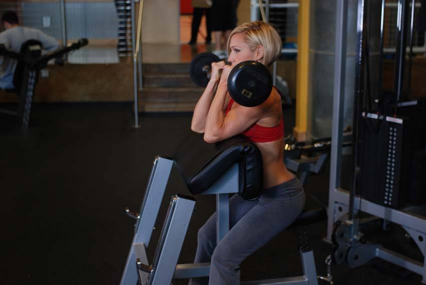 Preacher Hammer Dumbbell Curl Exercise Guide And Video