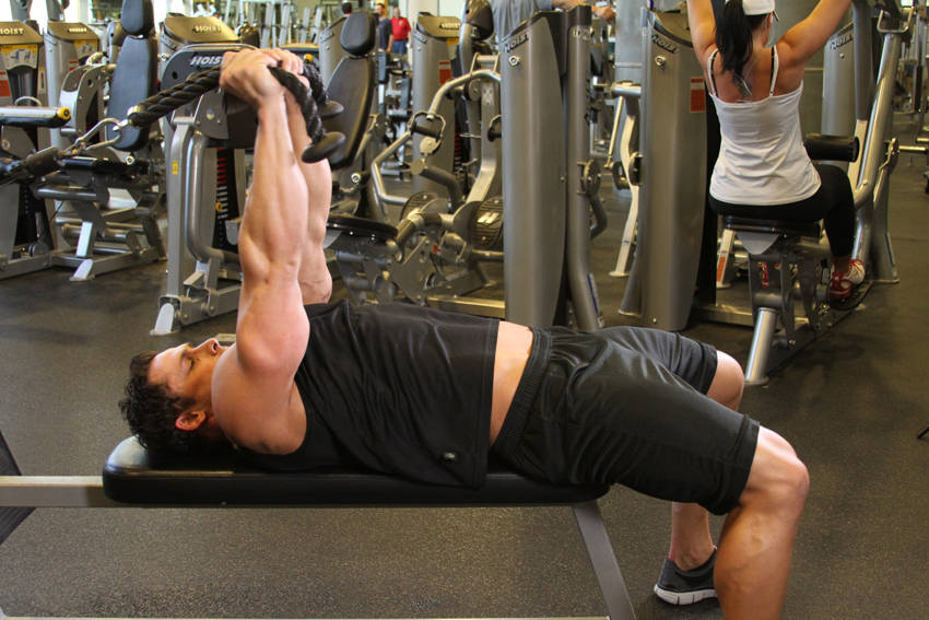 Low Cable Triceps Extension image