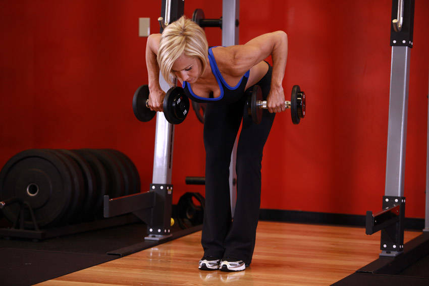 Bent Over Two Dumbbell Row Exercise Guide And Video