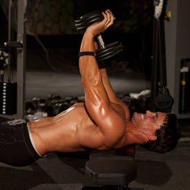 Close-Grip Dumbbell Press