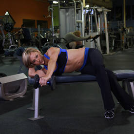 Lying One-Arm Lateral Raise