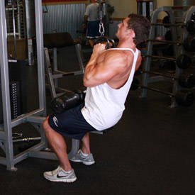 Neutral-grip lat pull-down
