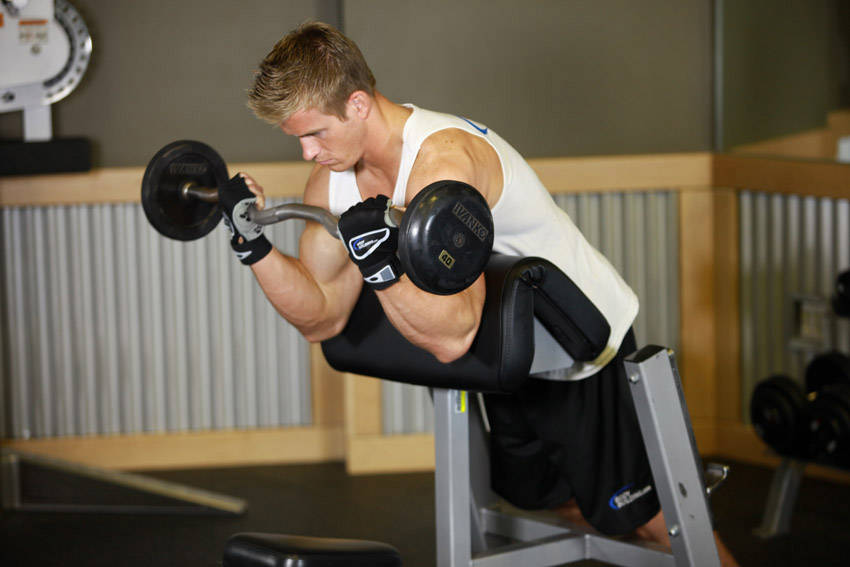 Awesome Spider Curls Incline Bench Part - 6: Spider Curl