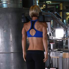 shoulder shrugs machine