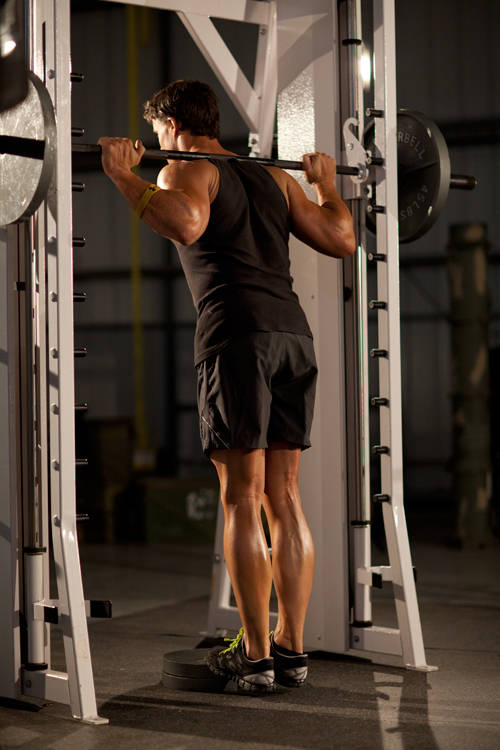 Smith Machine Calf Raise Exercise Guide And Video
