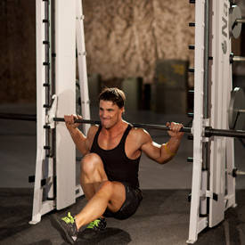 Smith Machine Pistol Squat