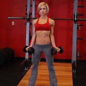 Standing Inner-Biceps Curl