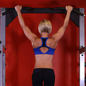 Wide-Grip Rear Pull-Up