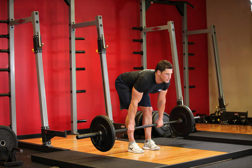 Stiff Leg Romanian Deadlift Stiff-legged Barbell Deadlift