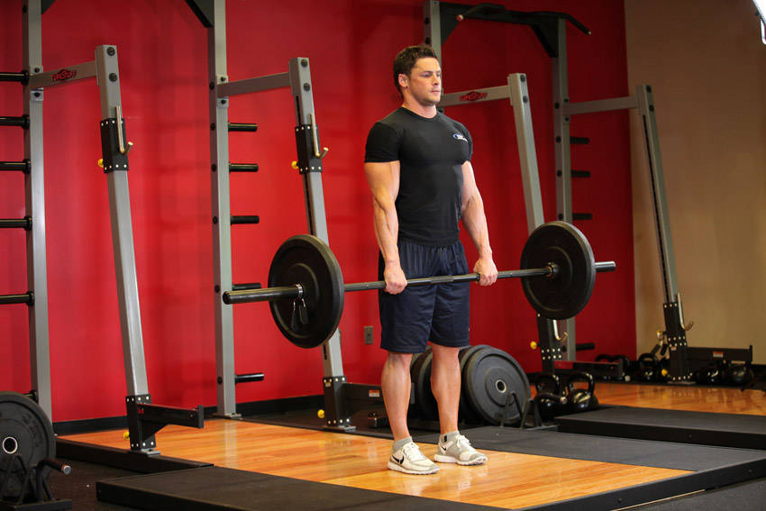 Stiff-Legged Barbell Deadlift Exercise Guide and Video