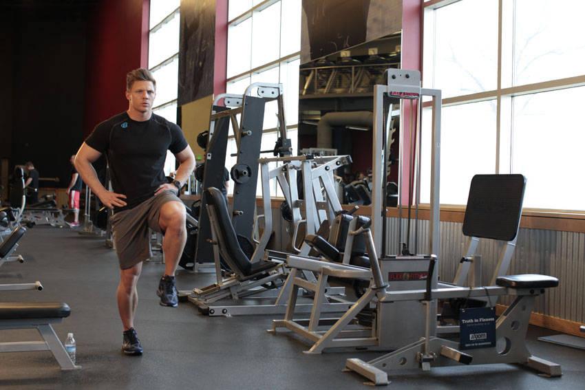 Bodyweight Walking Lunge image