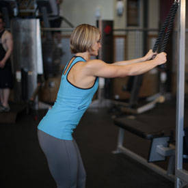 Rope Straight-Arm Pulldown