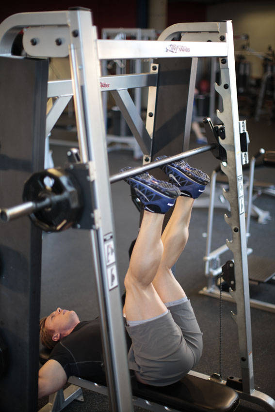 Smith Machine Hip Raise Exercise Guide and Video