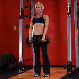 Stiff-Legged Dumbbell Deadlift