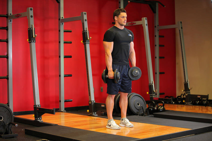 Stiff Leg Romanian Deadlift Stiff-legged Dumbbell Deadlift