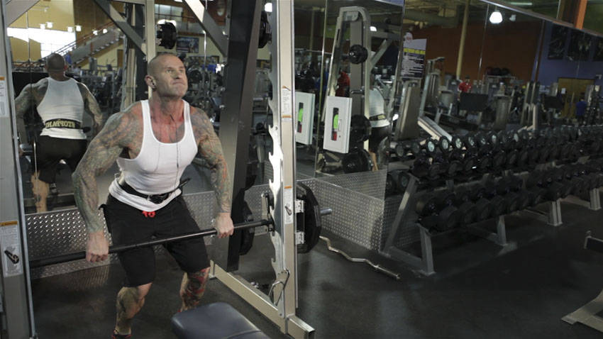 Smith Machine Hang Power Clean image