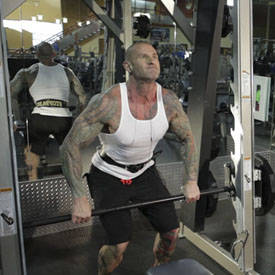 Smith Machine Hang Power Clean