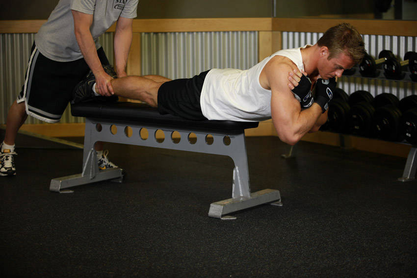 Hyperextensions With No Hyperextension Bench image
