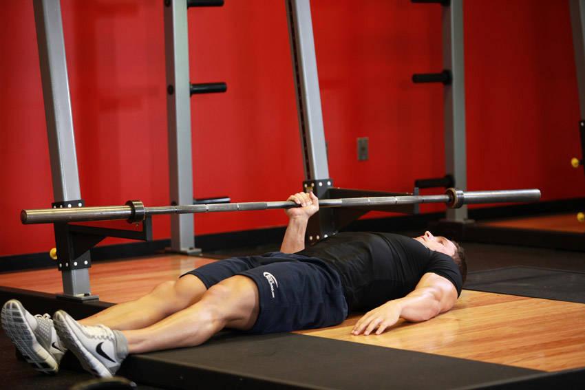 One Arm Floor Press image