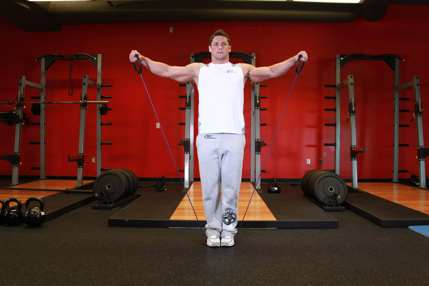 Lateral Raise - With Bands image