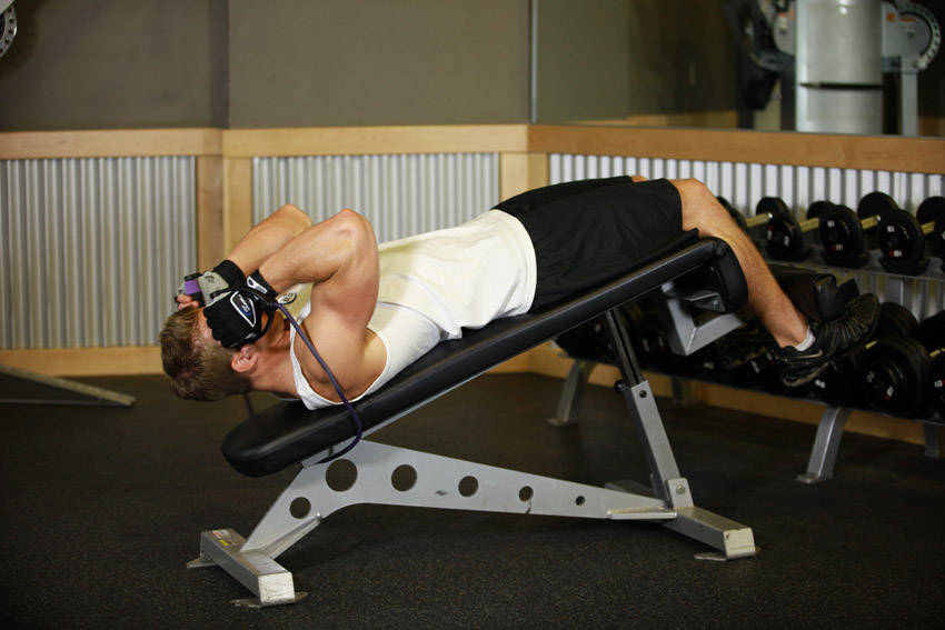 Weighted Sit Ups With Bands Exercise Guide And Video