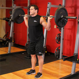 Narrow Stance Squats