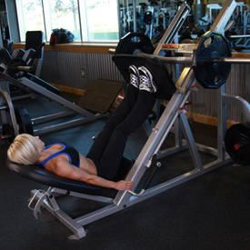 Narrow Stance Leg Press
