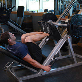 Narrow Stance Leg Press