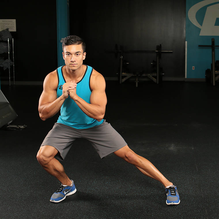 Side Lunge Exercise Guide and Video