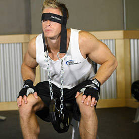 Seated Head Harness Neck Resistance