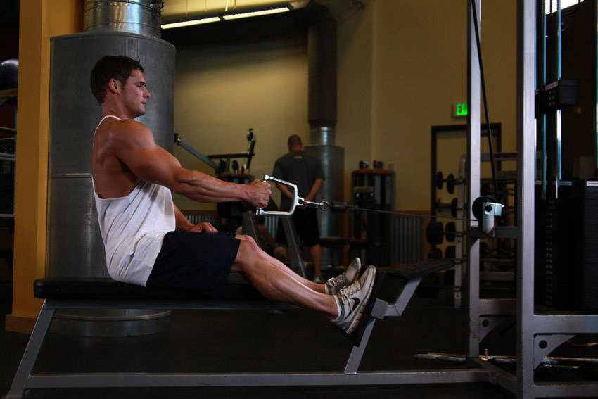Seated One-arm Cable Pulley Rows Exercise Guide and Video