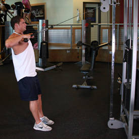 Cable Rope Rear-Delt Rows